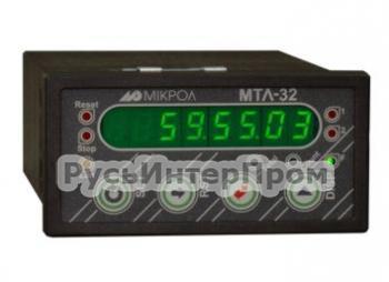 Микропроцессорный таймер-счетчик МТЛ-32