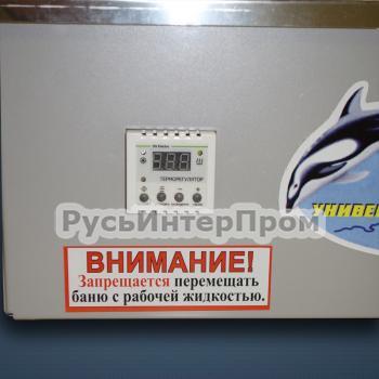 Баня водяная БВ-40 (панель приборов)