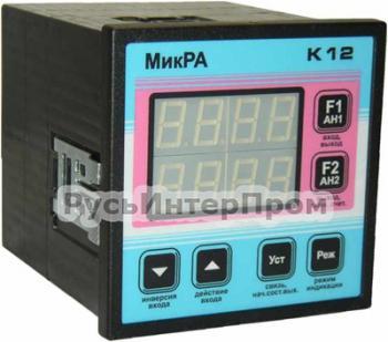 Микропроцессорный программируемый контроллер МикРА К12