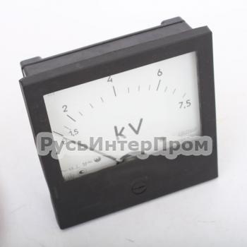 Э365 щитовой стрелочный вольтметр - фото 1