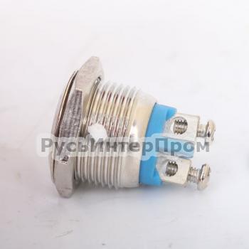 Кнопка TY 16-211A Scr металлическая - фото №1