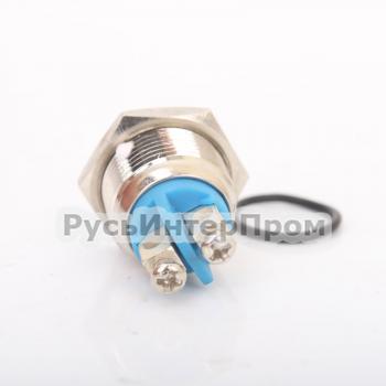 Кнопка TY 16-211A Scr металлическая - фото №2