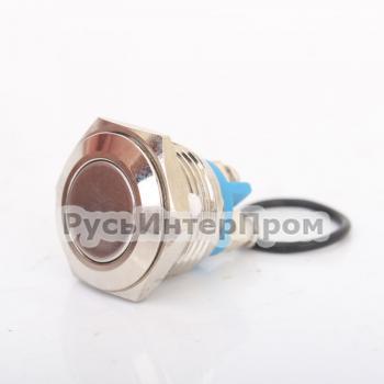 Кнопка TY 16-211A Scr металлическая - фото №3