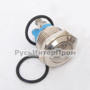 Кнопка TY 16-211A Scr металлическая - фото №4