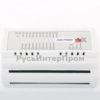 Общий вид IOM-PWM8 модуля