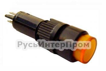 Фото арматуры светосигнальной NXD-215 желтой
