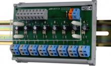 Модуль ввода дискретных сигналов переменного тока 220В МДС-8