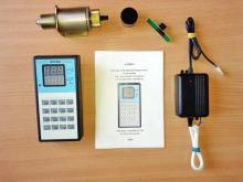 Электронная линейка Альфа - фото с комплектующими