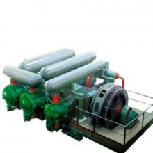 Фото поршневого компрессора для производства полиэтилена