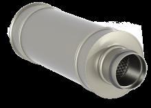 Шумоглушитель канальный трубчатый для круглых каналов Канал-ГКК фото 1